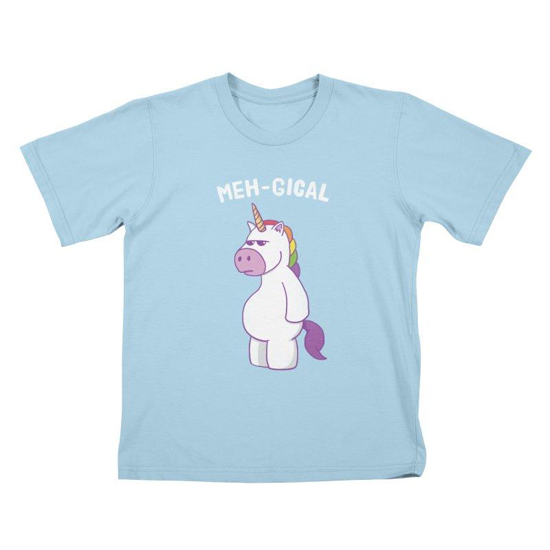 The Meh-gical Unicorn Kids T-Shirt by Wasabi Snake