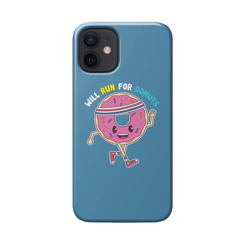 Will Run For Donuts Accessories Phone Case by Wasabi Snake