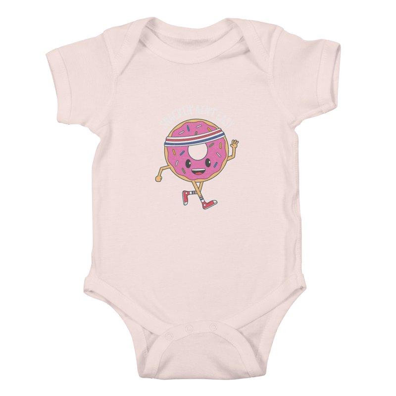 Snackin' Ain't Easy Kids Baby Bodysuit by Wasabi Snake
