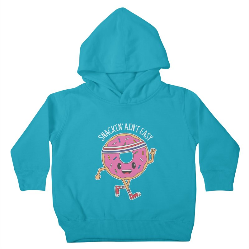 Snackin' Ain't Easy Kids Toddler Pullover Hoody by Wasabi Snake