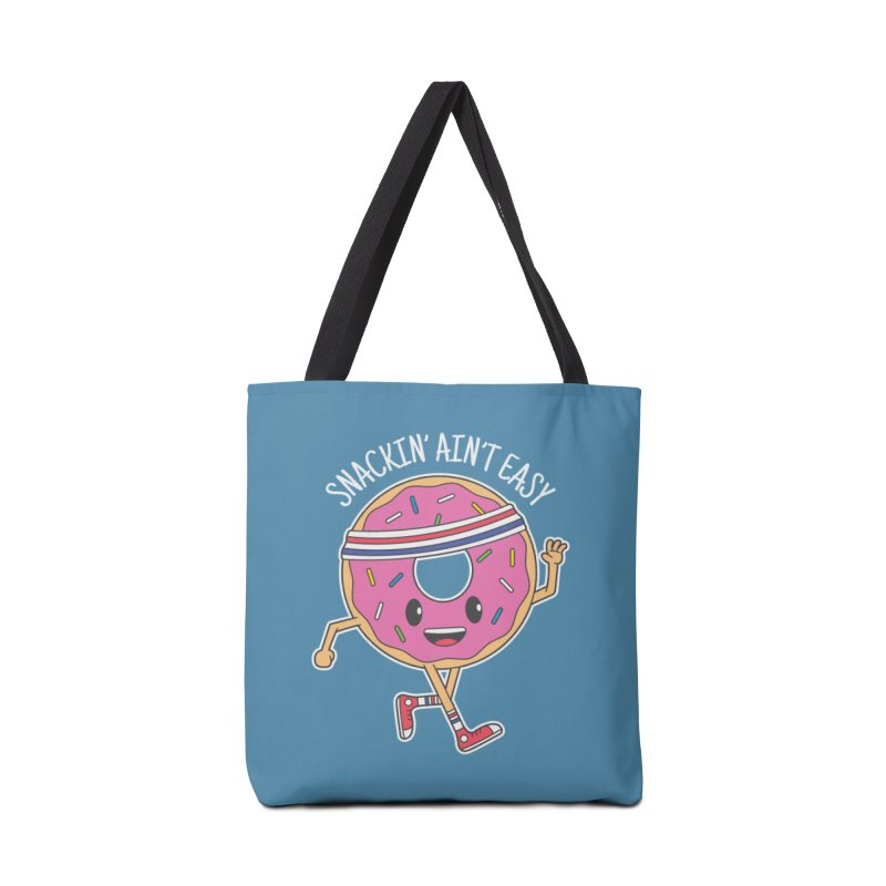 Snackin' Ain't Easy Accessories Bag by Pete Styles' Artist Shop