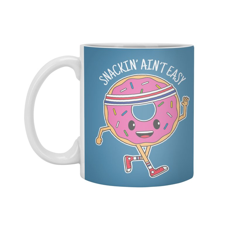 Snackin' Ain't Easy Accessories Standard Mug by Wasabi Snake