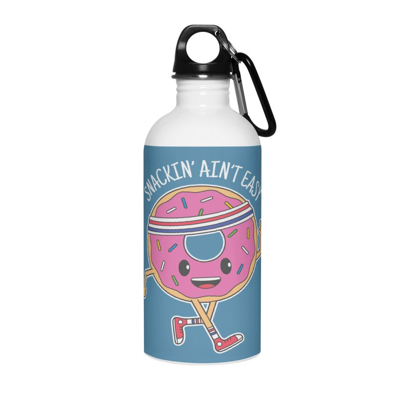 Snackin' Ain't Easy Accessories Water Bottle by Wasabi Snake