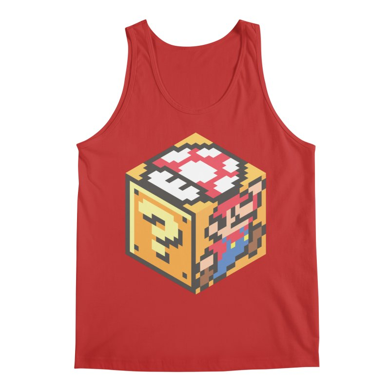 Isometric Mario Cube Men's Regular Tank by Wasabi Snake