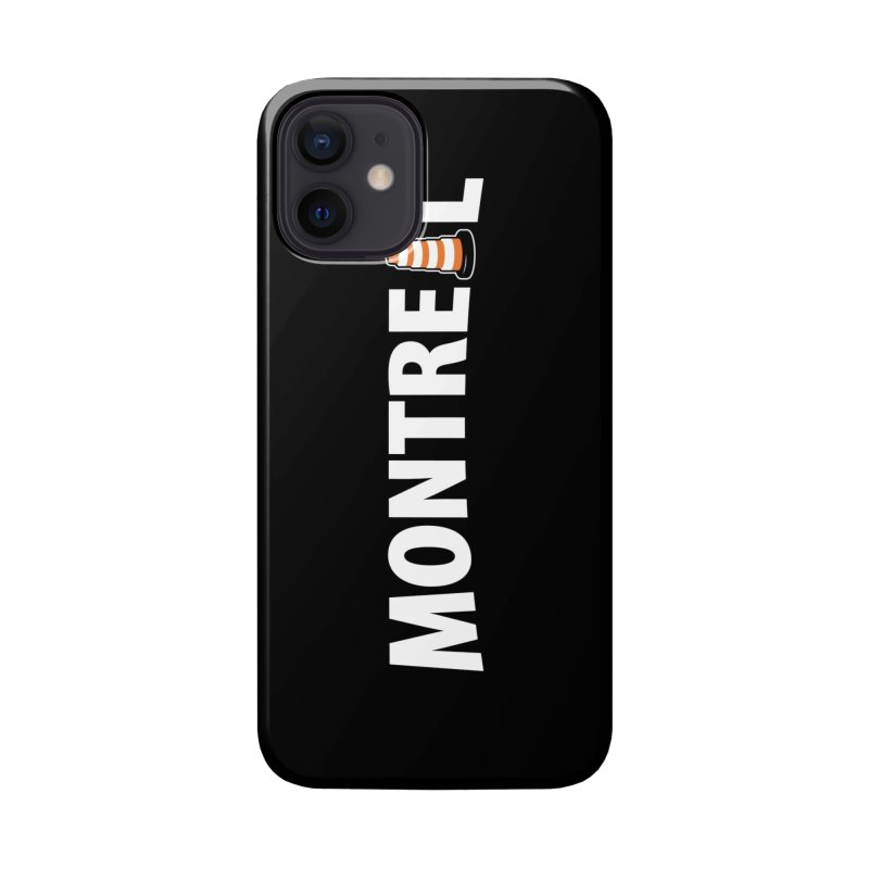 Montreal Traffic Cone Accessories Phone Case by Wasabi Snake