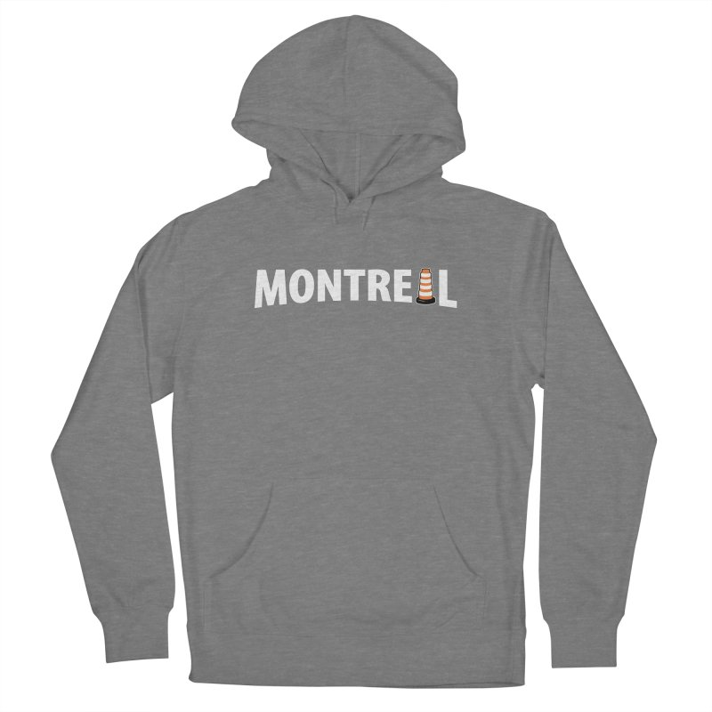 Montreal Traffic Cone Women's Pullover Hoody by Wasabi Snake