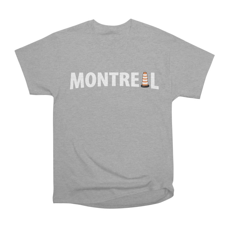 Montreal Traffic Cone Women's Heavyweight Unisex T-Shirt by Wasabi Snake