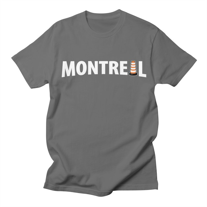 Montreal Traffic Cone Men's T-Shirt by Wasabi Snake