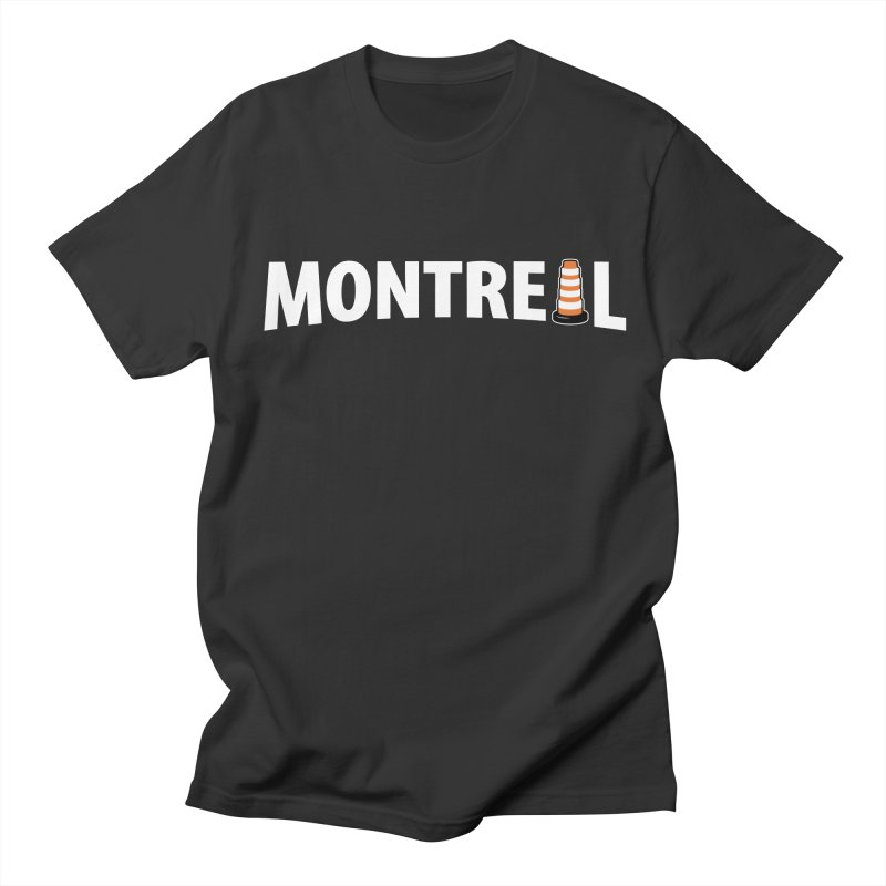 Montreal Traffic Cone Women's Unisex T-Shirt by Pete Styles' Artist Shop