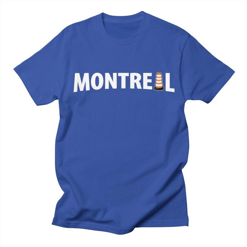 Montreal Traffic Cone Women's Regular Unisex T-Shirt by Wasabi Snake