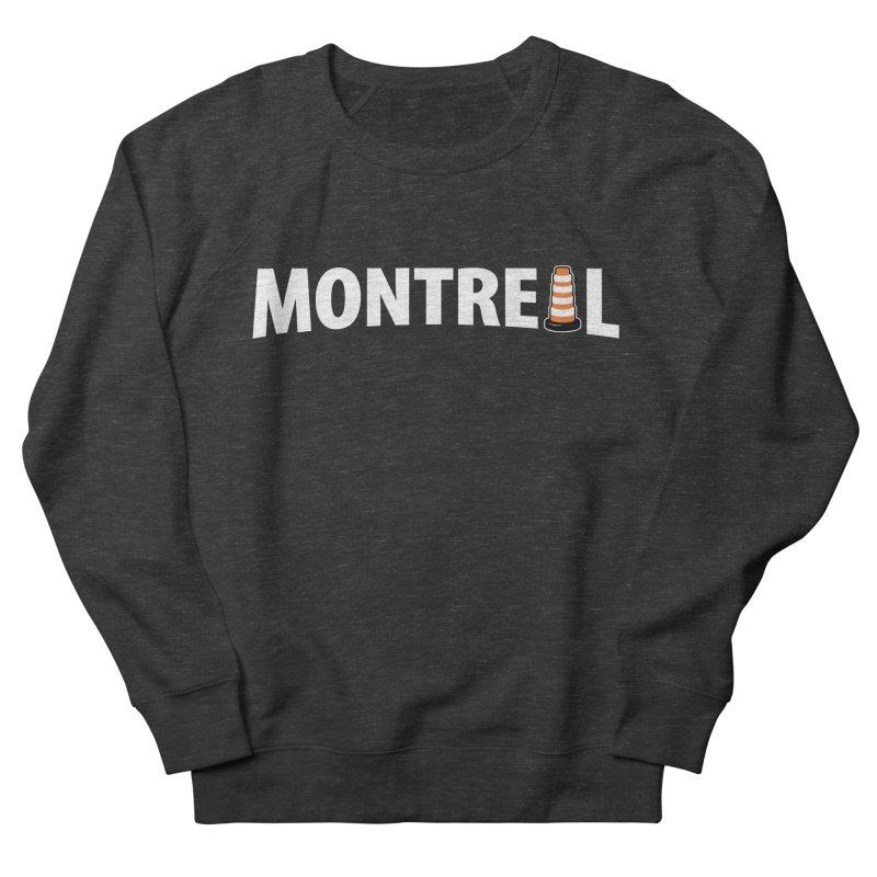 Montreal Traffic Cone Women's Sweatshirt by Pete Styles' Artist Shop