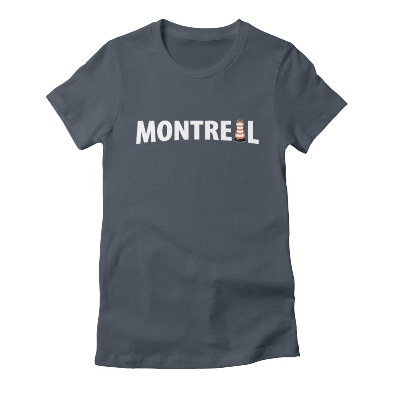 Montreal Traffic Cone Women's T-Shirt by Wasabi Snake