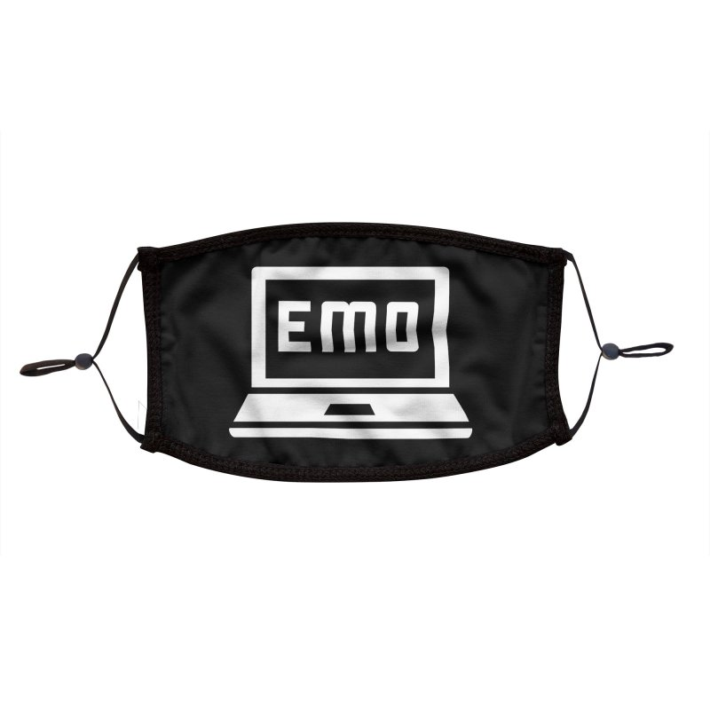 Stop All The Downloading Accessories Face Mask by Washed Up Emo