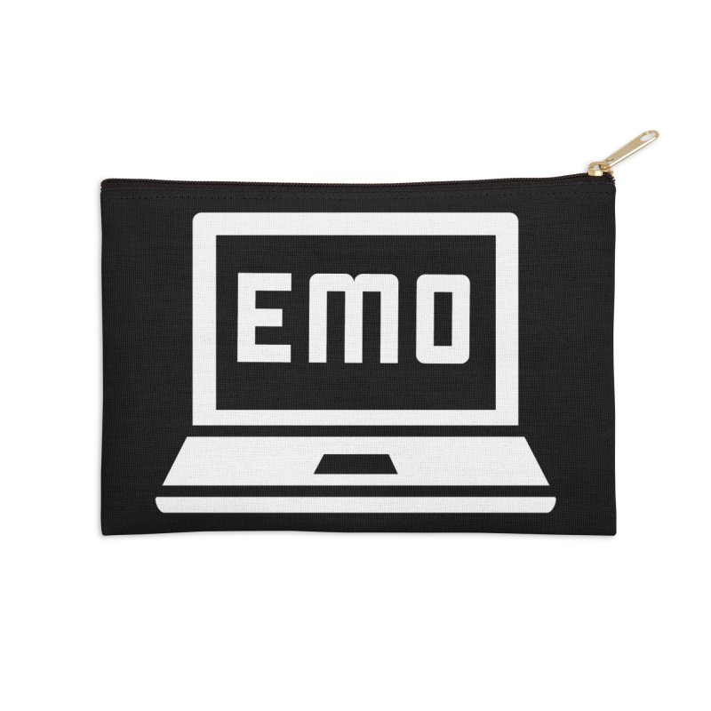 Stop All The Downloading Accessories Zip Pouch by Washed Up Emo