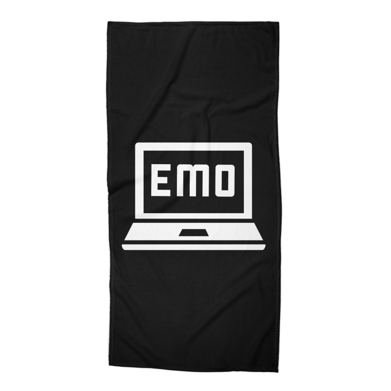 Stop All The Downloading Accessories Beach Towel by Washed Up Emo