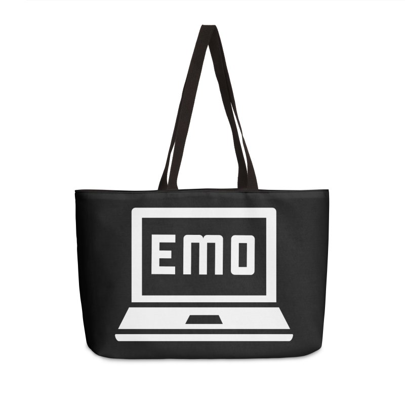Stop All The Downloading Accessories Weekender Bag Bag by Washed Up Emo