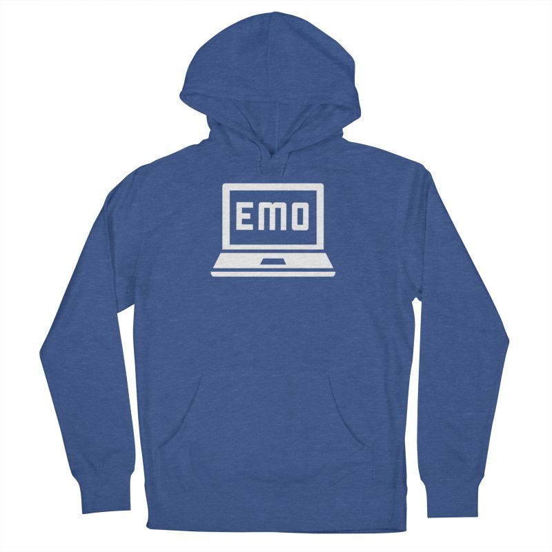 Stop All The Downloading Women's French Terry Pullover Hoody by Washed Up Emo