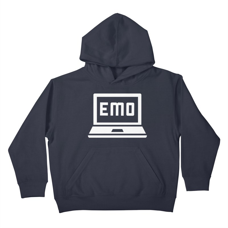 Stop All The Downloading Kids Pullover Hoody by Washed Up Emo