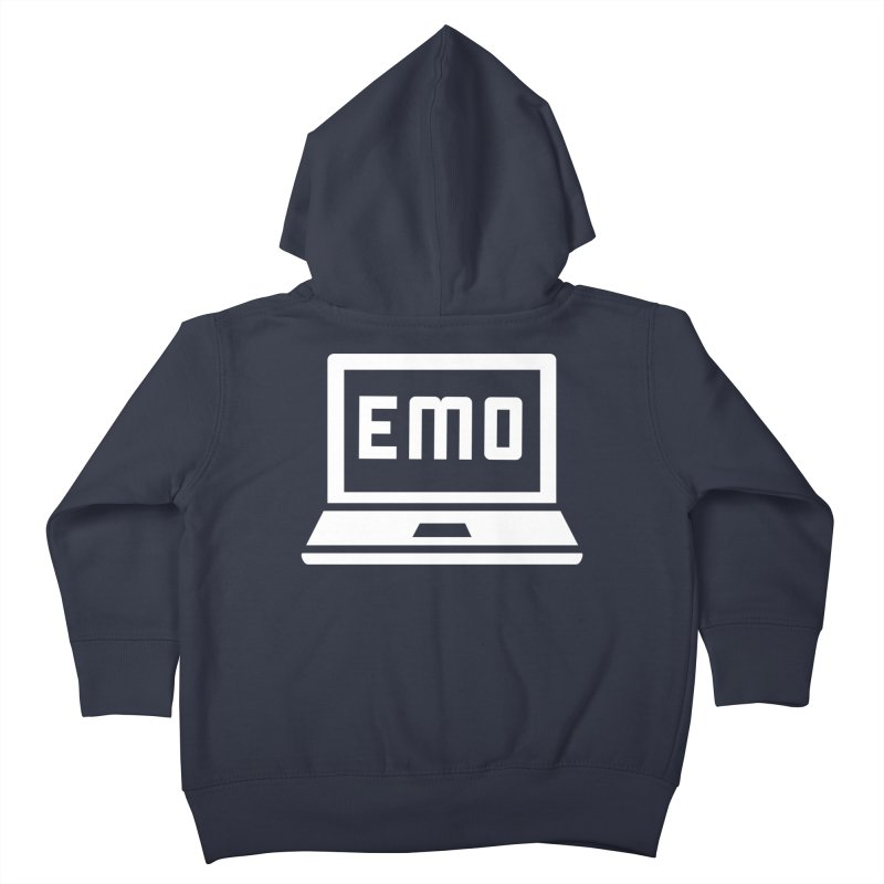 Stop All The Downloading Kids Toddler Zip-Up Hoody by Washed Up Emo