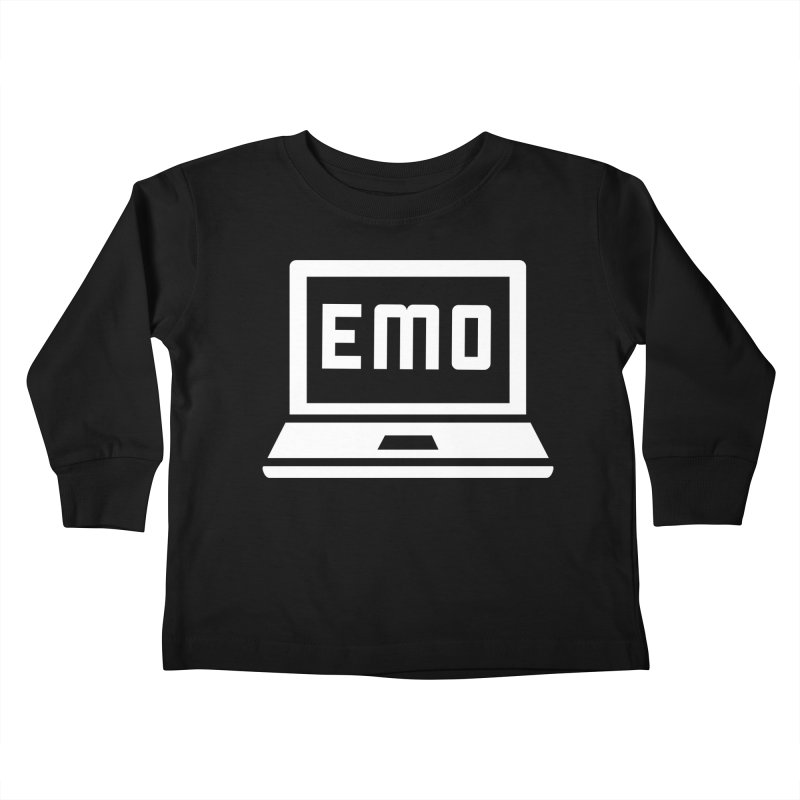 Stop All The Downloading Kids Toddler Longsleeve T-Shirt by Washed Up Emo
