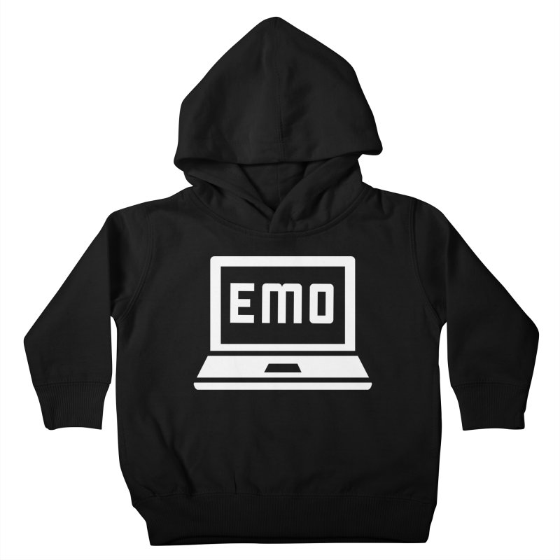 Stop All The Downloading Kids Toddler Pullover Hoody by Washed Up Emo