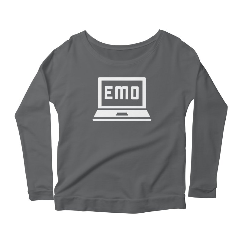 Stop All The Downloading Women's Scoop Neck Longsleeve T-Shirt by Washed Up Emo