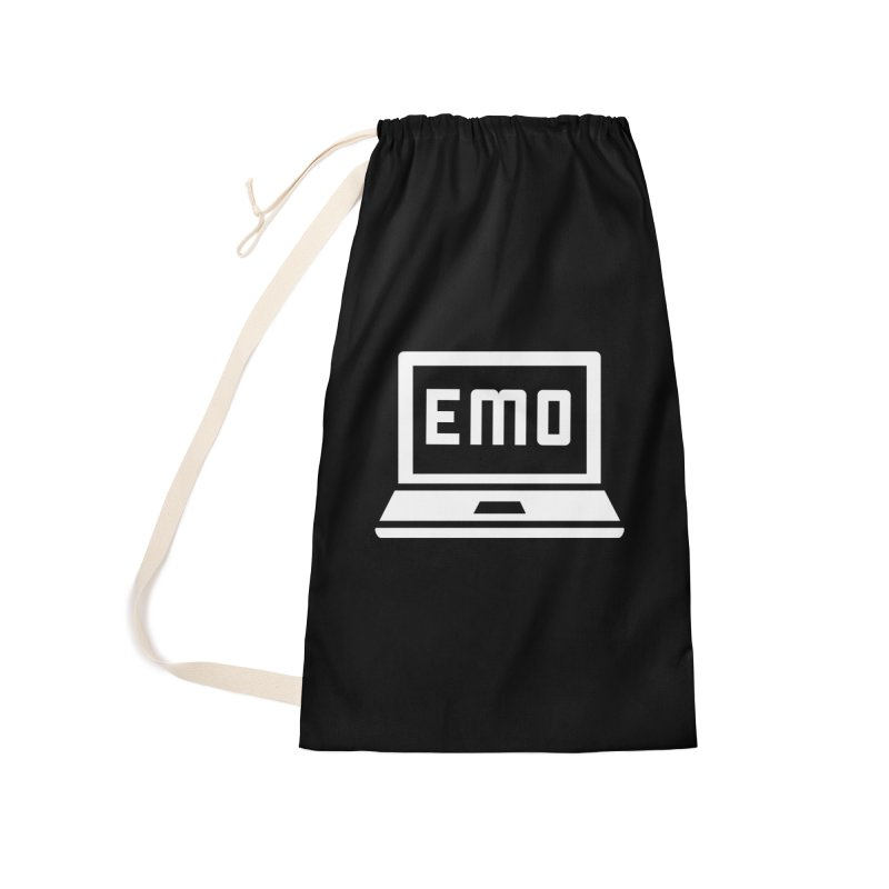 Stop All The Downloading Accessories Laundry Bag Bag by Washed Up Emo