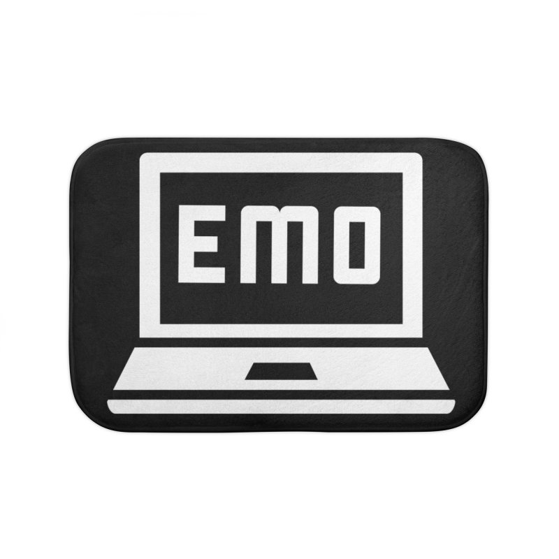 Stop All The Downloading Home Bath Mat by Washed Up Emo