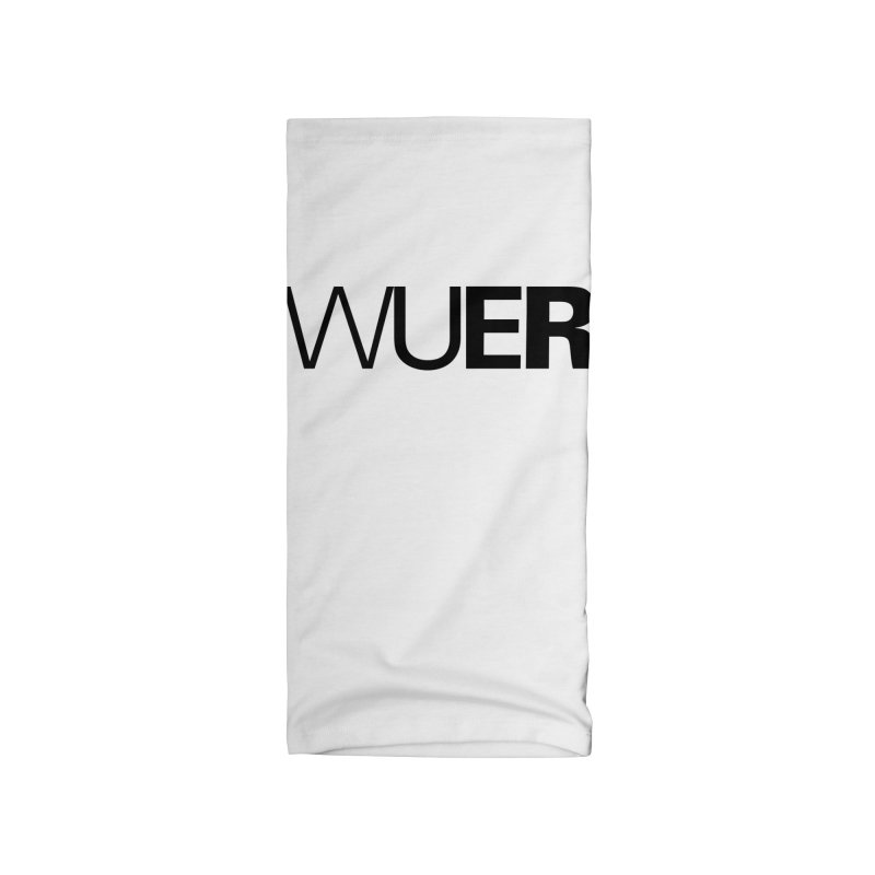 WUER (Washed Up Emo Radio) Accessories Neck Gaiter by Washed Up Emo