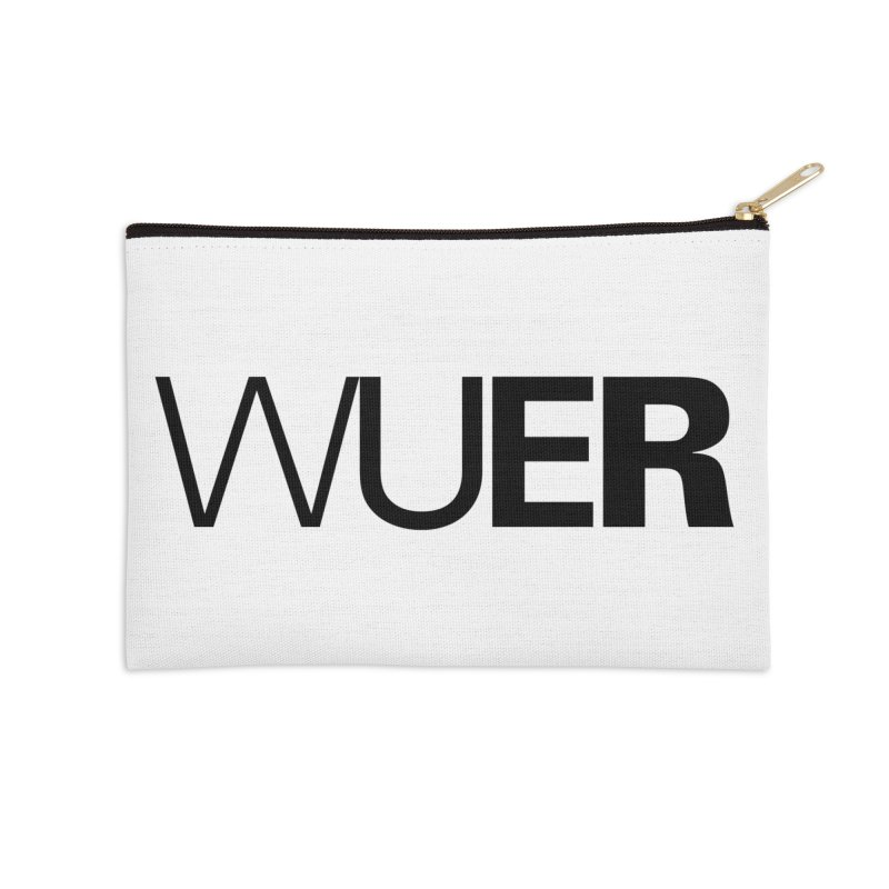WUER (Washed Up Emo Radio) Accessories Zip Pouch by Washed Up Emo