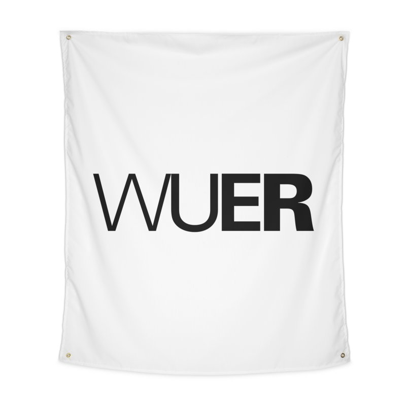 WUER (Washed Up Emo Radio) Home Tapestry by Washed Up Emo