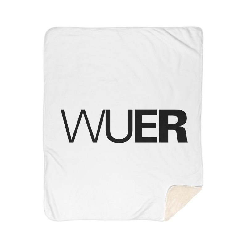 WUER (Washed Up Emo Radio) Home Blanket by Washed Up Emo