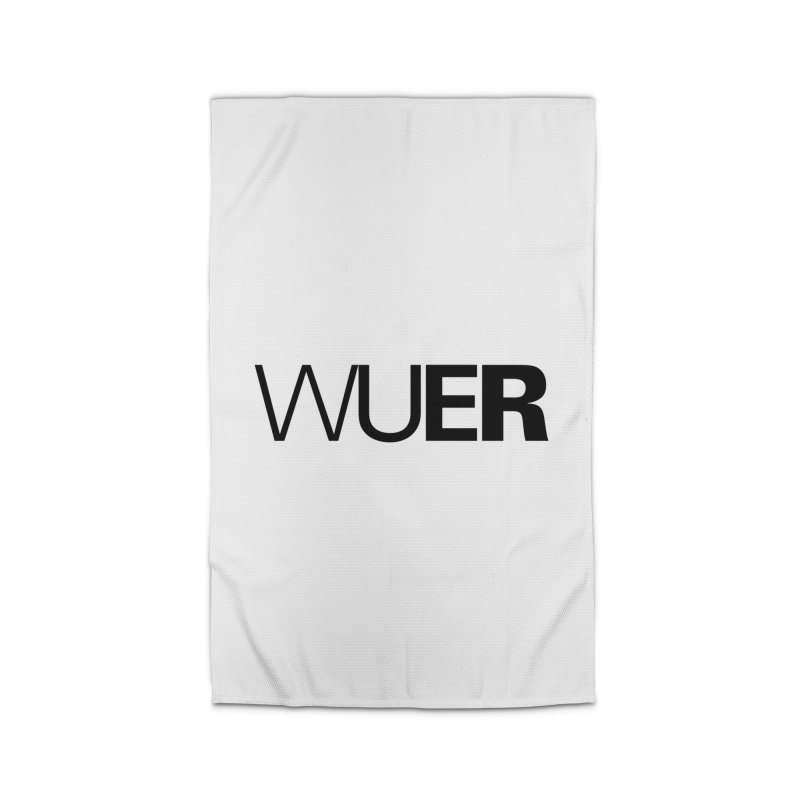 WUER (Washed Up Emo Radio) Home Rug by Washed Up Emo