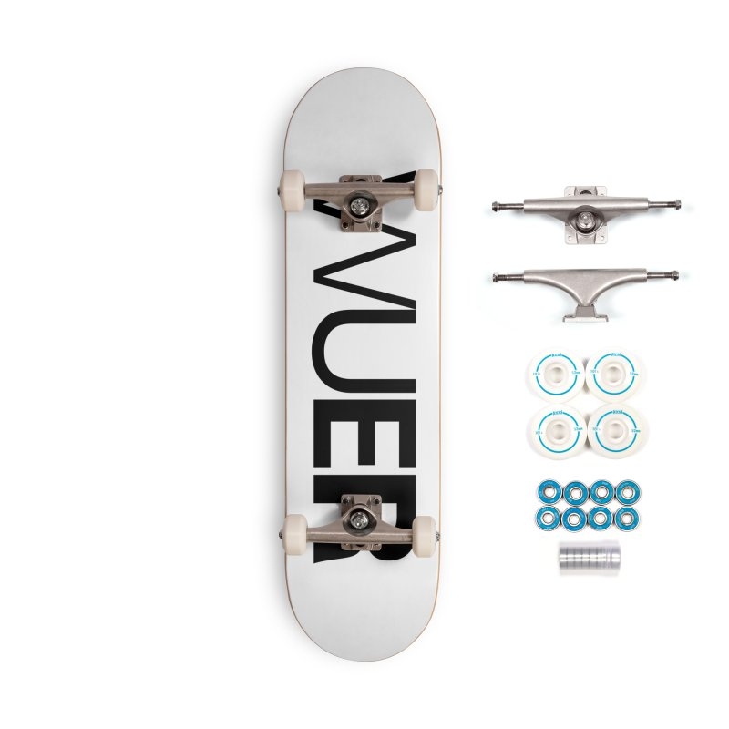 WUER (Washed Up Emo Radio) Accessories Skateboard by Washed Up Emo