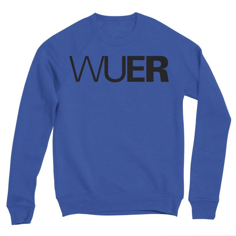 WUER (Washed Up Emo Radio) Women's Sweatshirt by Washed Up Emo