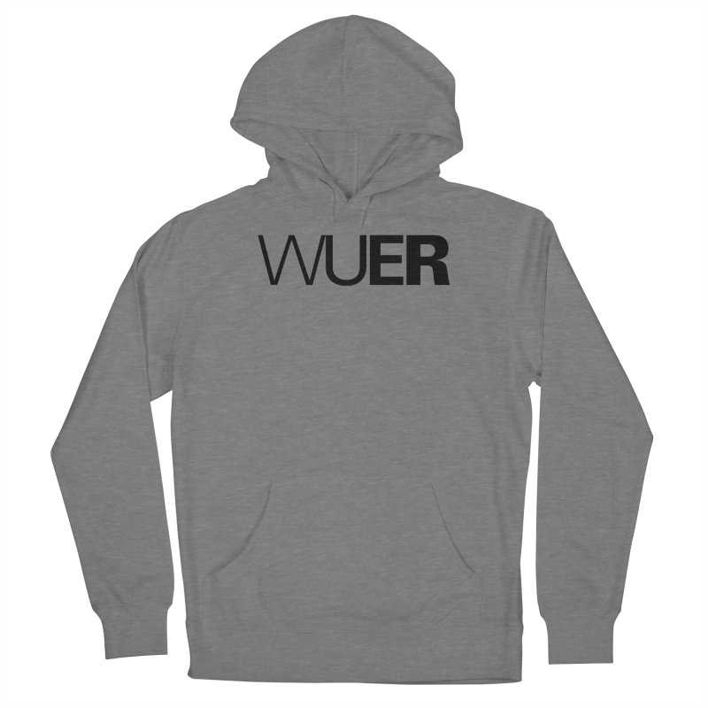 WUER (Washed Up Emo Radio) Men's Pullover Hoody by Washed Up Emo