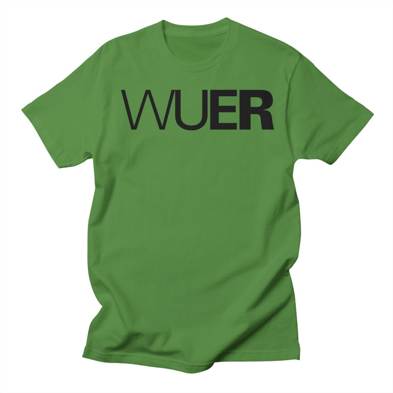 WUER (Washed Up Emo Radio) Men's T-Shirt by Washed Up Emo