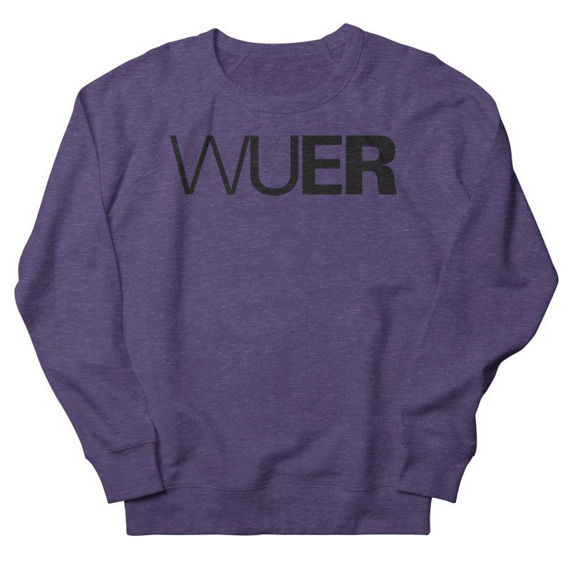 WUER (Washed Up Emo Radio) Men's Sweatshirt by Washed Up Emo