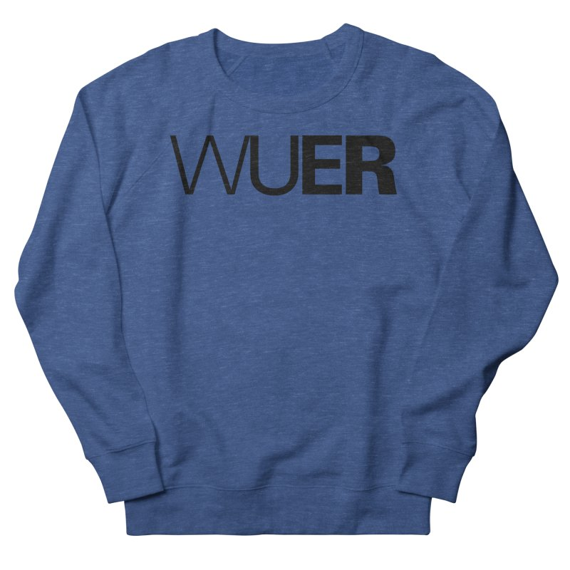 WUER (Washed Up Emo Radio) Men's Sweatshirt by Washed Up Emo