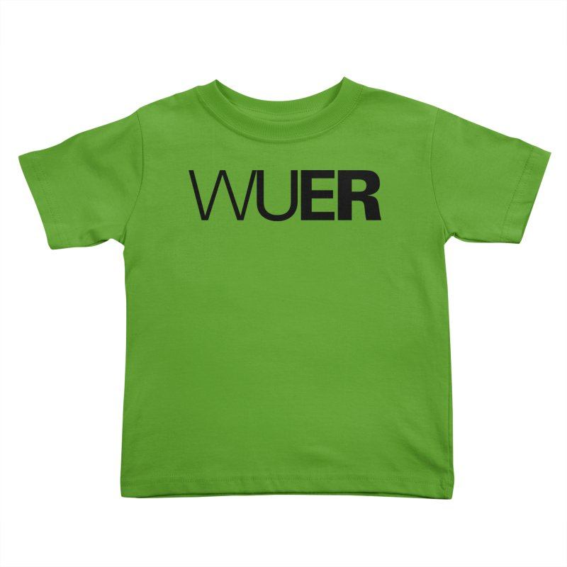 WUER (Washed Up Emo Radio) Kids Toddler T-Shirt by Washed Up Emo