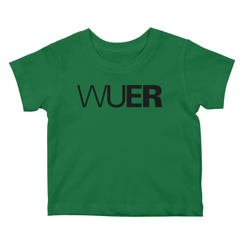 WUER (Washed Up Emo Radio) Kids Baby T-Shirt by Washed Up Emo