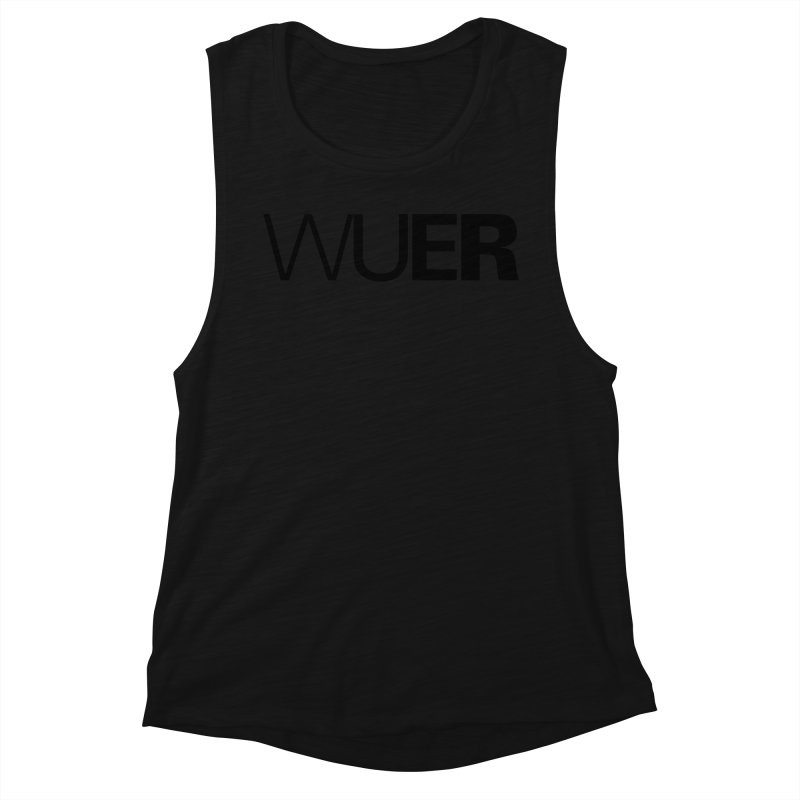 WUER (Washed Up Emo Radio) Women's Tank by Washed Up Emo