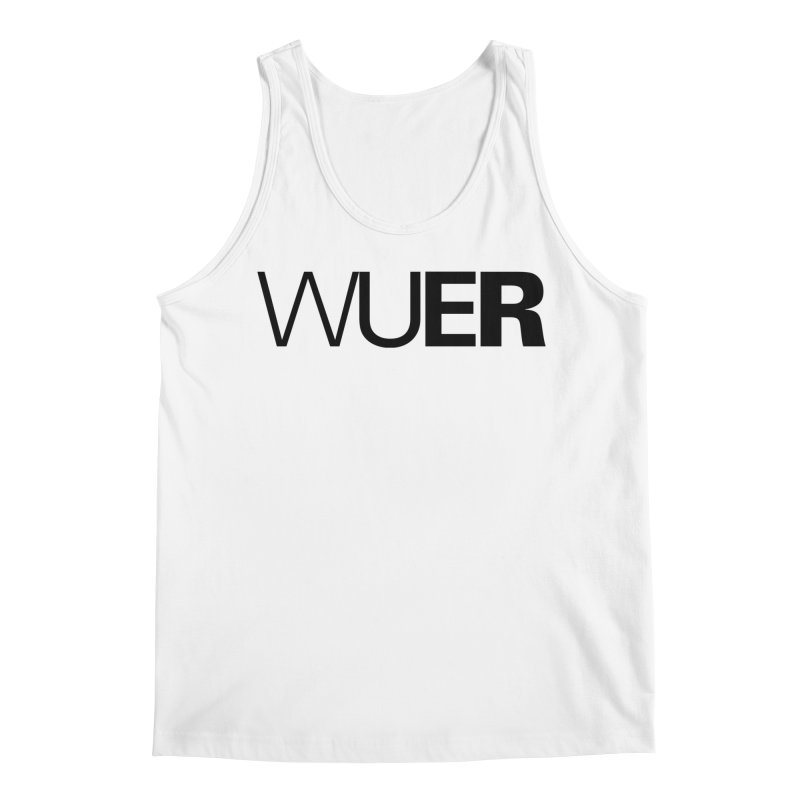 WUER (Washed Up Emo Radio) Men's Tank by Washed Up Emo