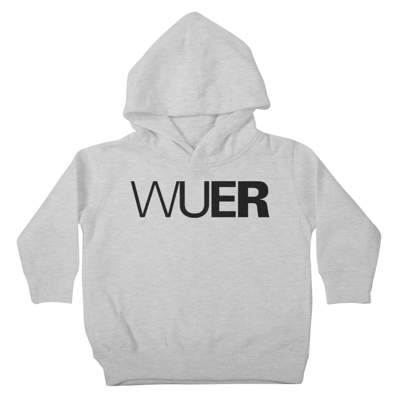 WUER (Washed Up Emo Radio) Kids Toddler Pullover Hoody by Washed Up Emo