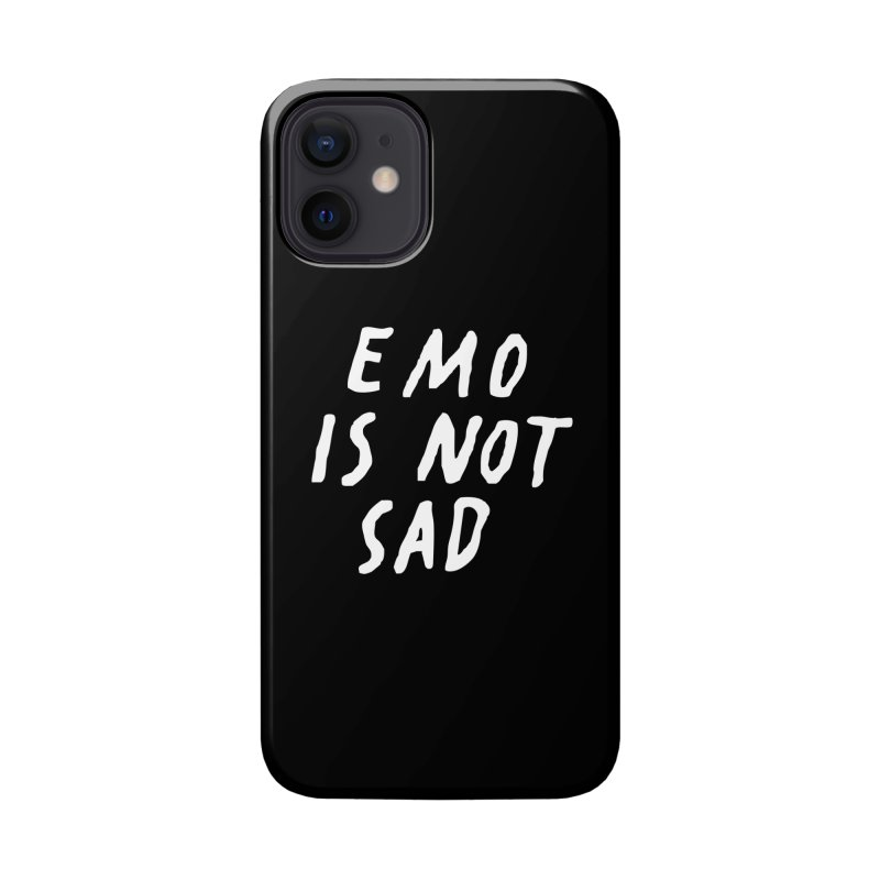 Emo is Not Sad  Accessories Phone Case by Washed Up Emo