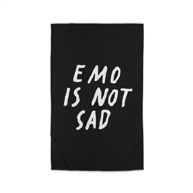 Emo is Not Sad  Home Rug by Washed Up Emo
