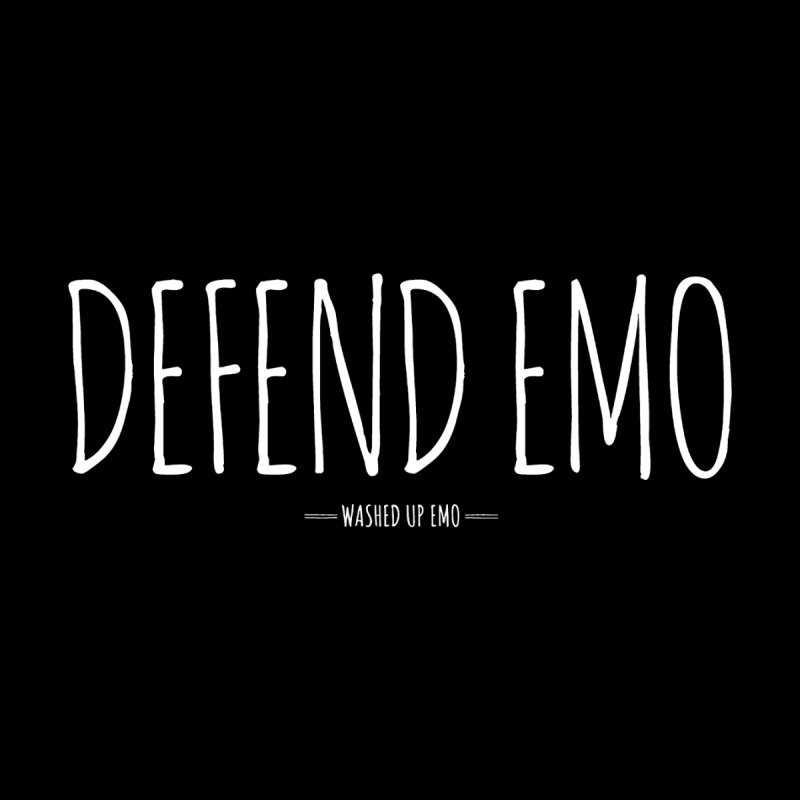 Defend Emo Men's T-Shirt by Washed Up Emo