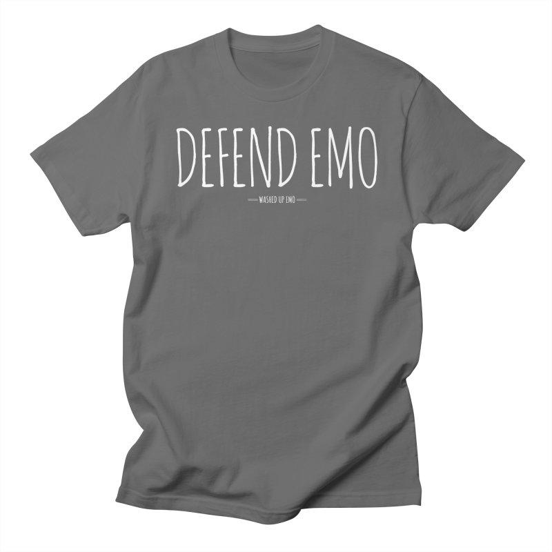 Defend Emo Men's T-Shirt by Washed Up Emo