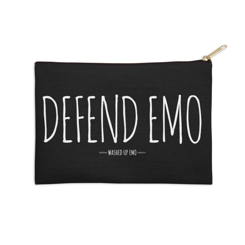 Defend Emo Accessories Zip Pouch by Washed Up Emo