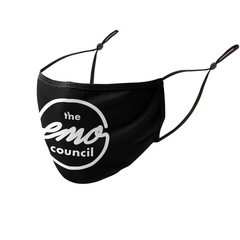 Emo Council  Accessories Face Mask by Washed Up Emo